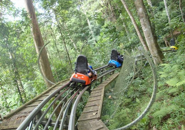 Máng trượt xuống thác Datanla