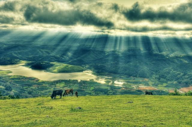 Vẻ đẹp Núi Lang Biang
