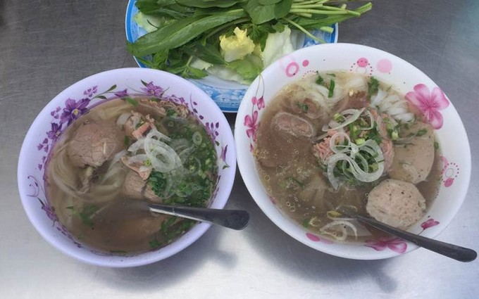 Lunch in Dalat - Pho Hieu in Dalat