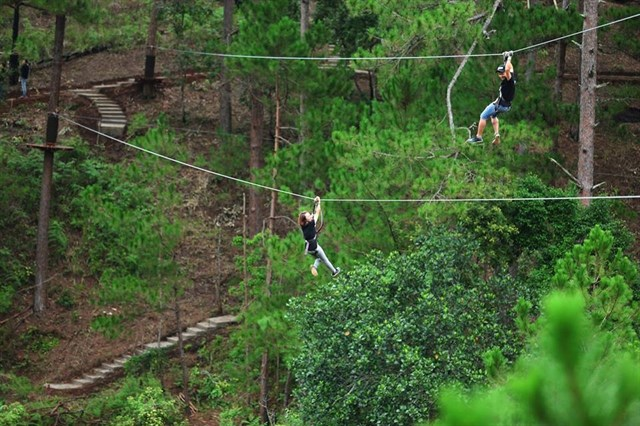 Dalat High Rope Tour daily
